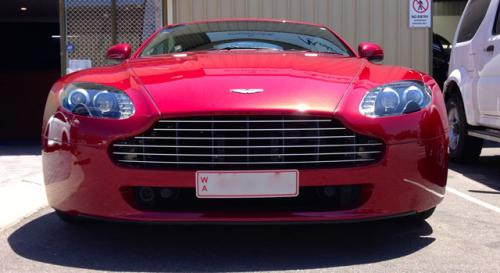 Aston Martin V8 Vantage Paint Correction
